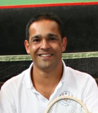 Kees Ludekens, senior real tennis professional