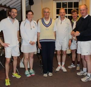 2015 Xmas Finalists: Rich, Karen, Richard, Hugh, Robin, Guy