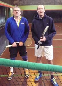 Dave Pimblett and Peter Morrison