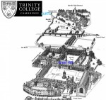 20 minute walk from CURTC to Trinity's Great hall via Burrell's Walk and The Avenue