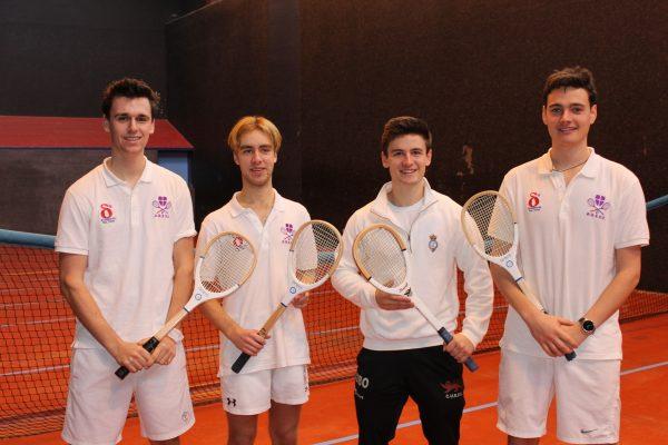 Charlie Drew (Durham) - Semifinalist Oliver Taylor (Durham) - Champion, Matt Shaw (Cambridge) - Finalist, Matt Brooks (Durham) - Semifinalist